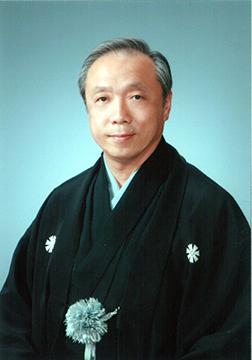 杵家弥七師(一般社団法人成城古典芸能協会理事)